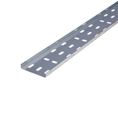 133-L75TR 75mm standard Light duty cable tray 3m